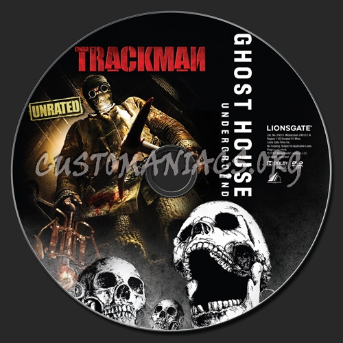 Trackman dvd label