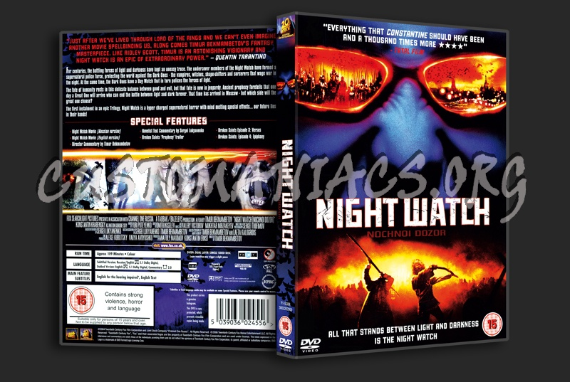 Night Watch dvd cover
