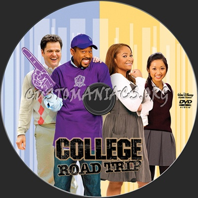 College Road Trip dvd label