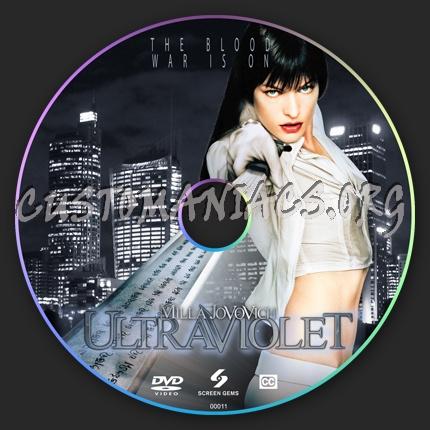 Ultraviolet dvd label