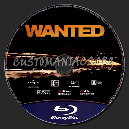 Wanted blu-ray label