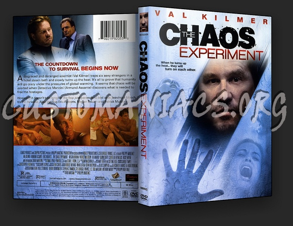 The Chaos Experiment dvd cover