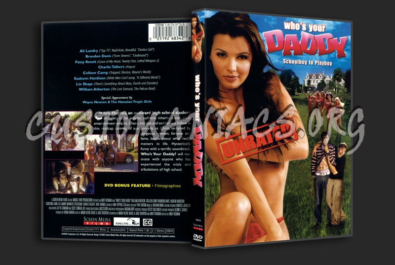 Who's your Daddy dvd cover