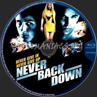 Never Back Down blu-ra...