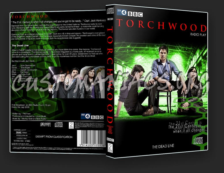 Torchwood: The Dead Line dvd cover