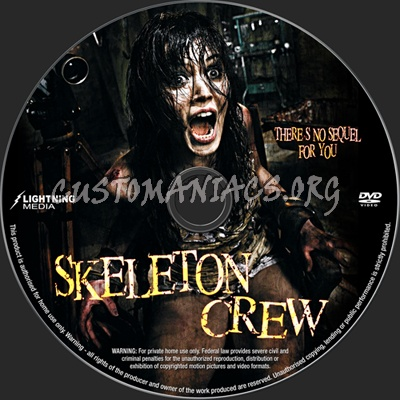 Skeleton Crew dvd label