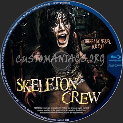 Skeleton Crew blu-ray label