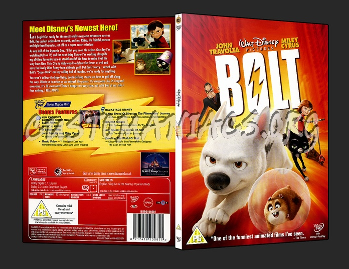 Bolt - DVD Covers & Labels by Customaniacs, id: 68009 free