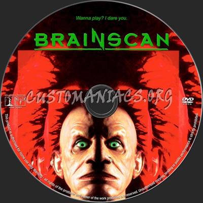 Brainscan dvd label