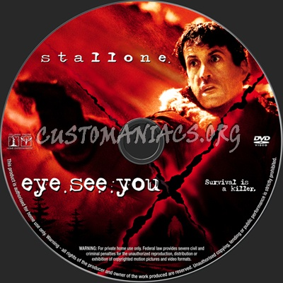 eye see you dvd label