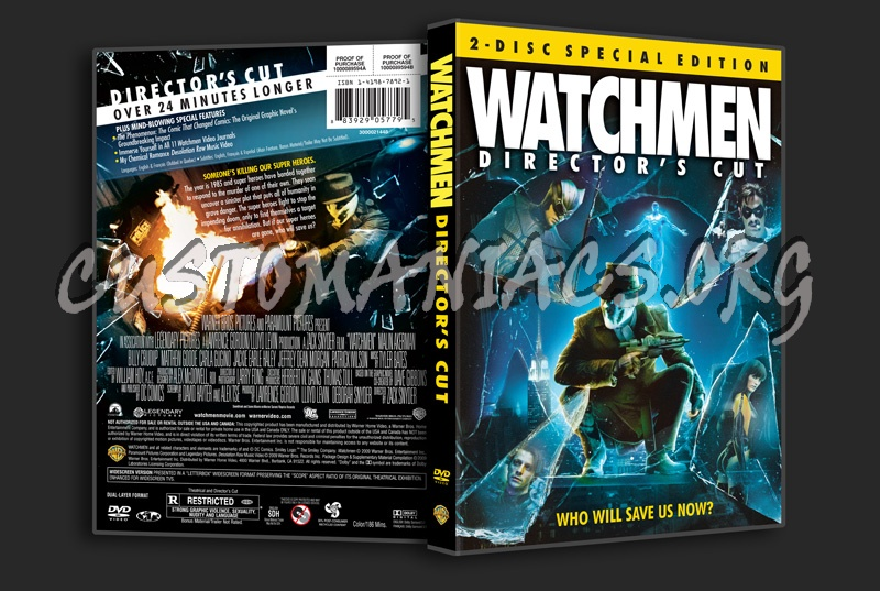 Watchmen (Director's Cut) dvd cover - DVD Covers & Labels ...
