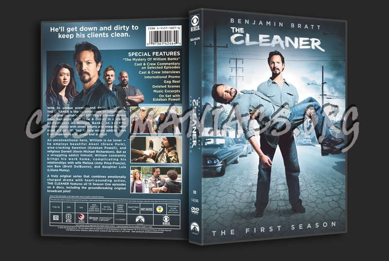 The Cleaner Season 1 dvd cover