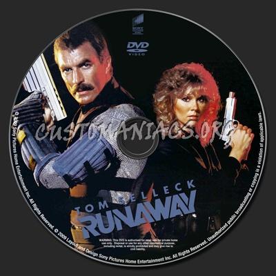 Runaway dvd label