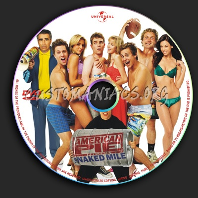 American Pie 5 The Naked Mile dvd label