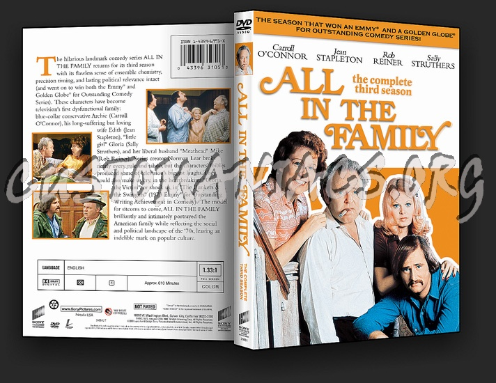 All in the Family Complete Collection dvd cover