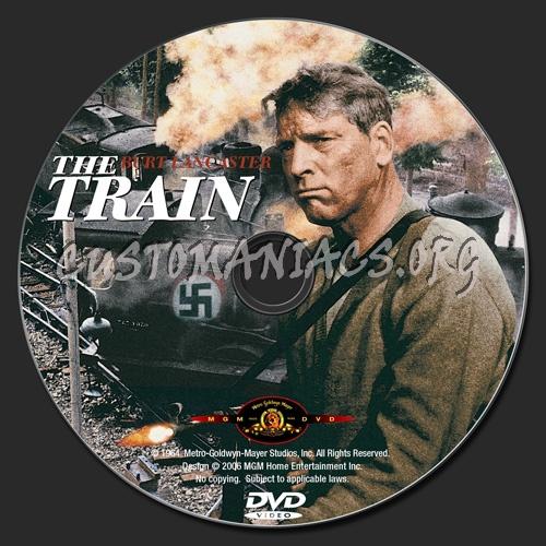 The Train dvd label