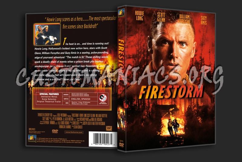 Firestorm dvd cover