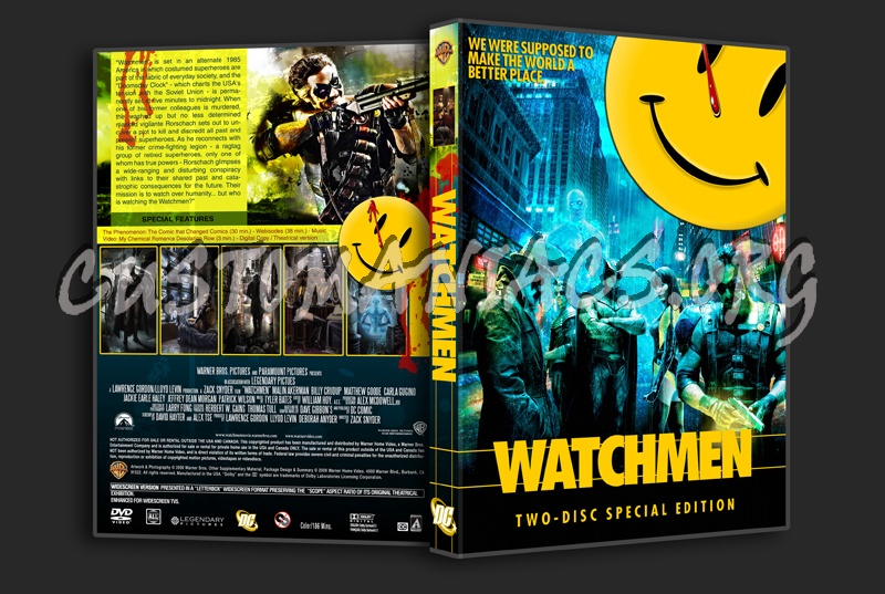 Watchmen dvd cover