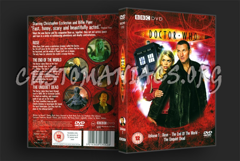 Doctor Who Series 1 Volume 1 dvd cover