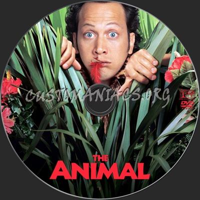 The Animal dvd label