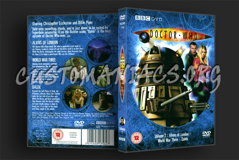 Doctor Who Series 1 Volume 2 dvd cover