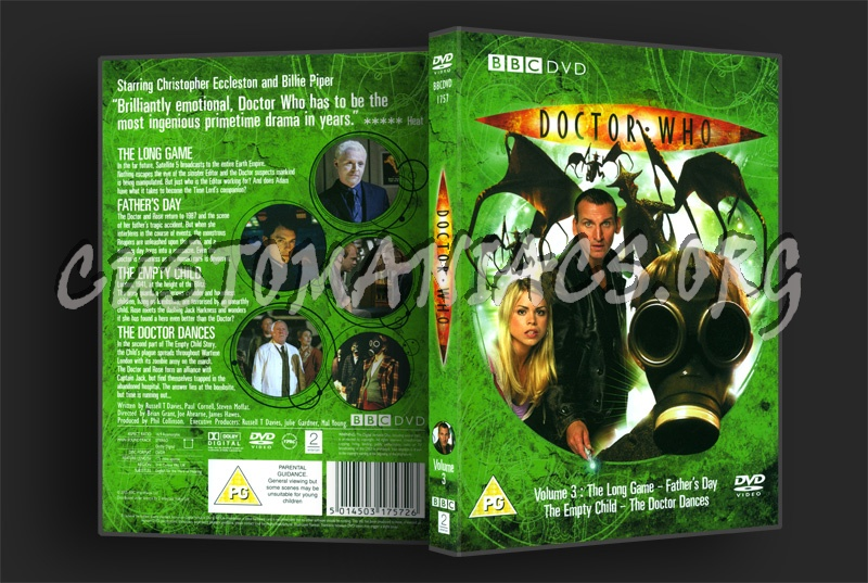 Doctor Who Series 1 Volume 3 dvd cover