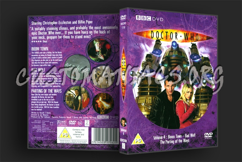 Doctor Who Series 1 Volume 4 dvd cover