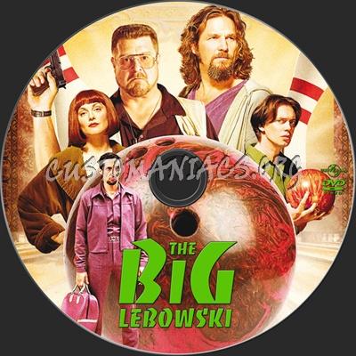 The Big Lebowski dvd label