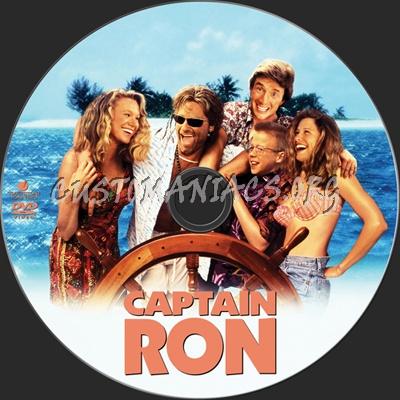 Captain Ron dvd label