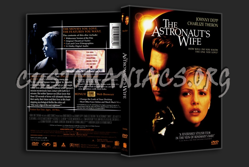 The Astronauts Wife dvd cover - DVD Covers & Labels by ...