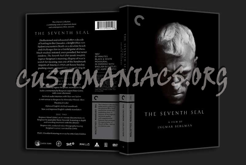 011 - The Seventh Seal dvd cover