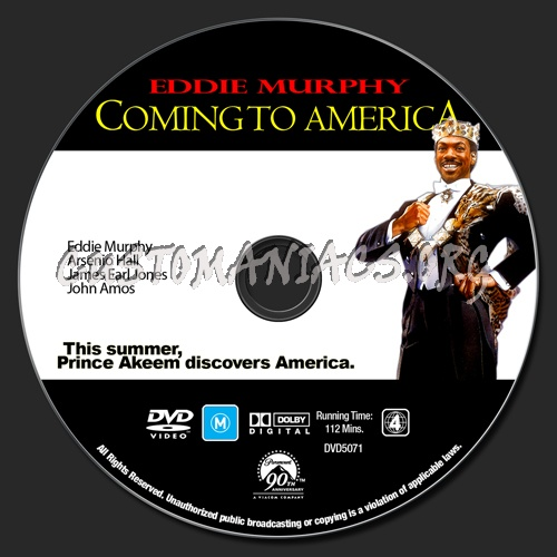 [EDDIE MURPHY COLLECTION] COMING TO AMERICA