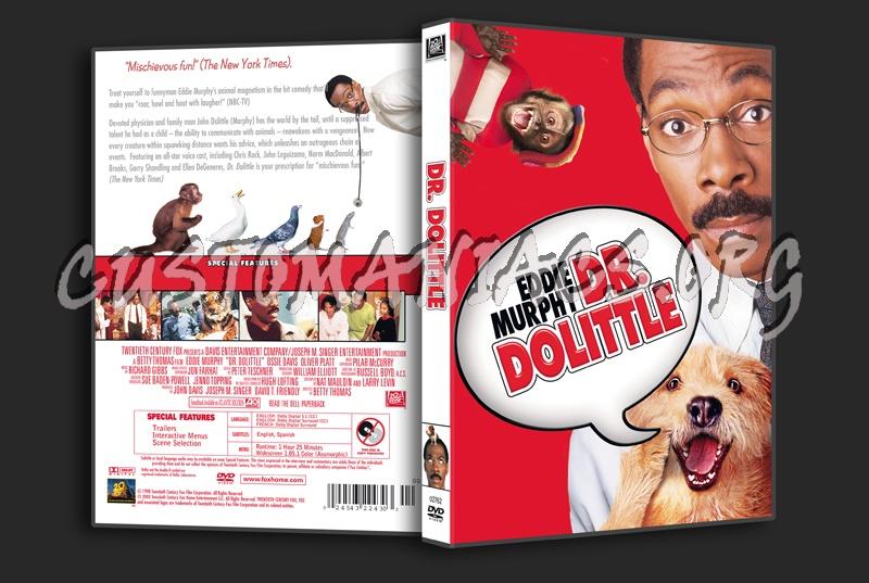 Dr Dolittle dvd cover