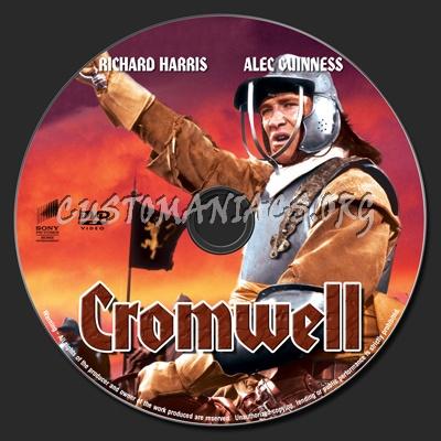 Cromwell dvd label