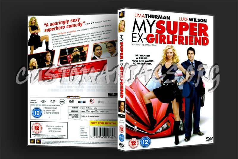 My Super Ex-Girlfriend dvd cover
