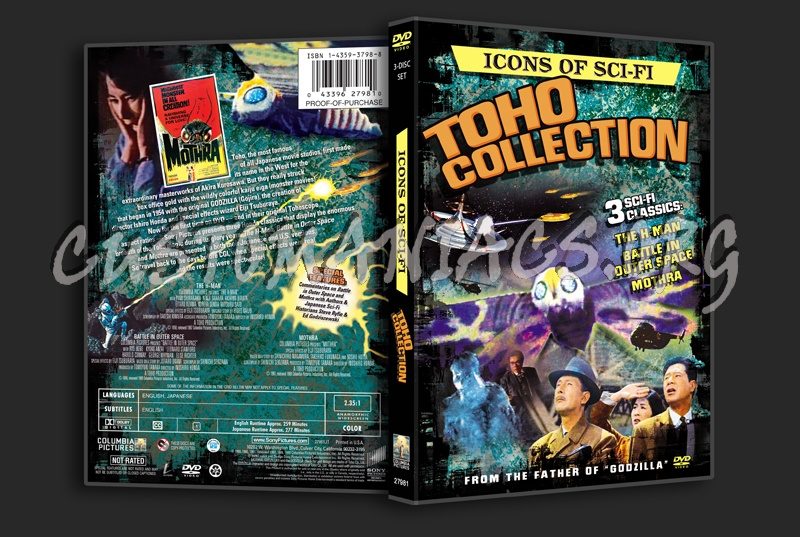 Icons of Sci-fi Toho Collection dvd cover