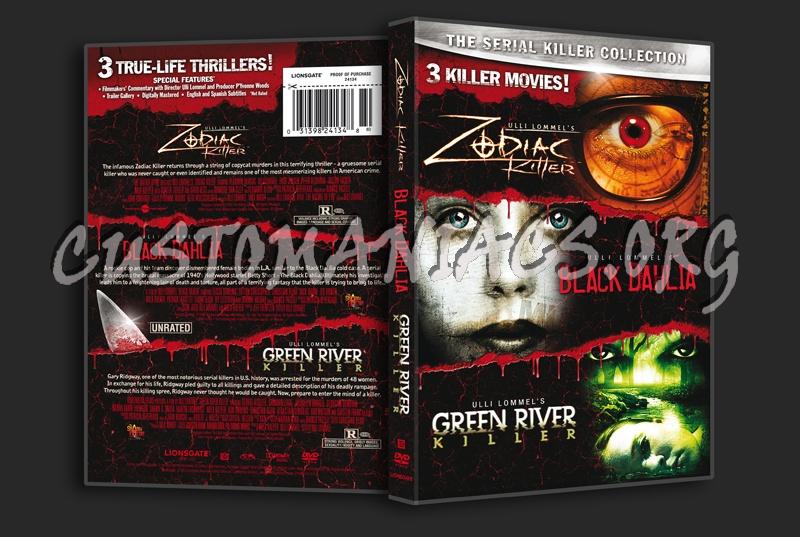 Zodiac Killer / Black Dahlia / Green River Killer: The Serial Killer Collection dvd cover