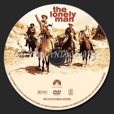 The Lonely Man dvd label