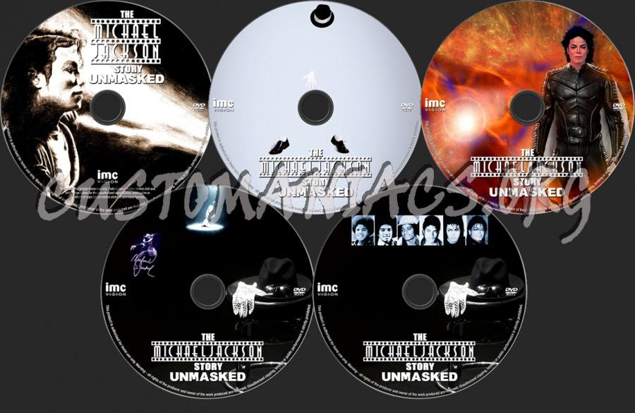 The Michael Jackson Story - Unmasked dvd label