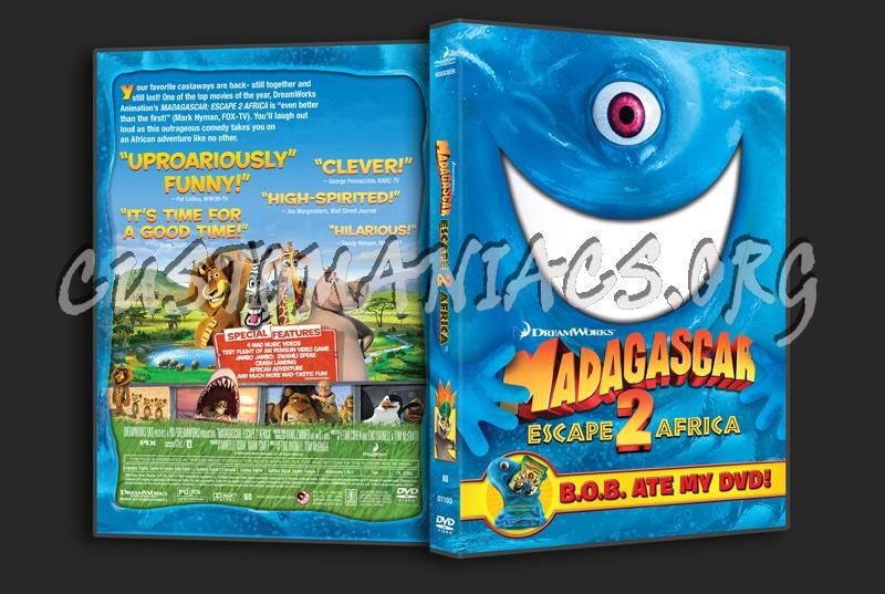 Madagascar 2 Escape 2 Africa dvd cover