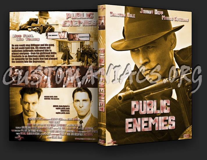 Public Enemies dvd cover