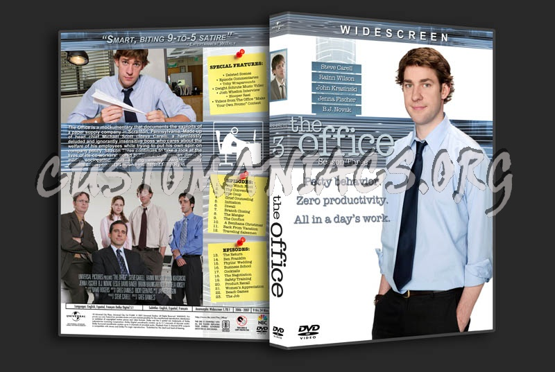 The Office: Seasons 1-5 dvd cover
