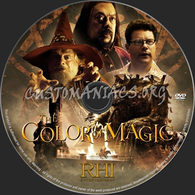 The Color of Magic dvd label