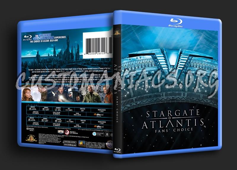 Stargate Atlantis Fans Choice blu-ray cover