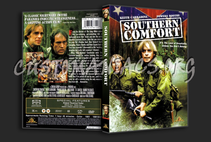 Souther Comfort Front dvd cover