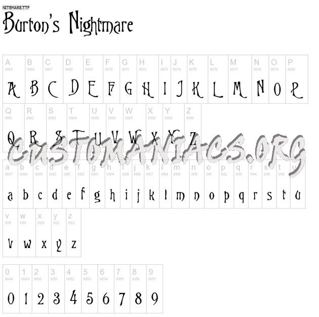 Tim Burton's Nightmare