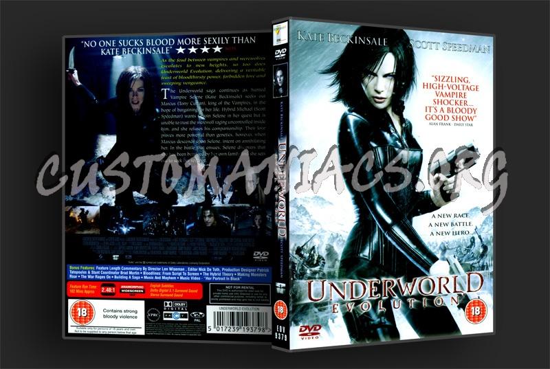 Underworld Evolution dvd cover