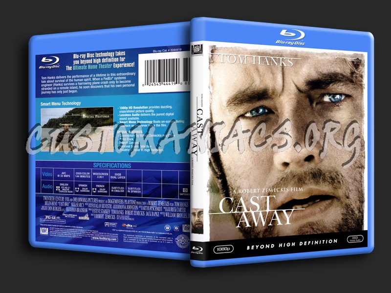 Cast Away blu-ray cover