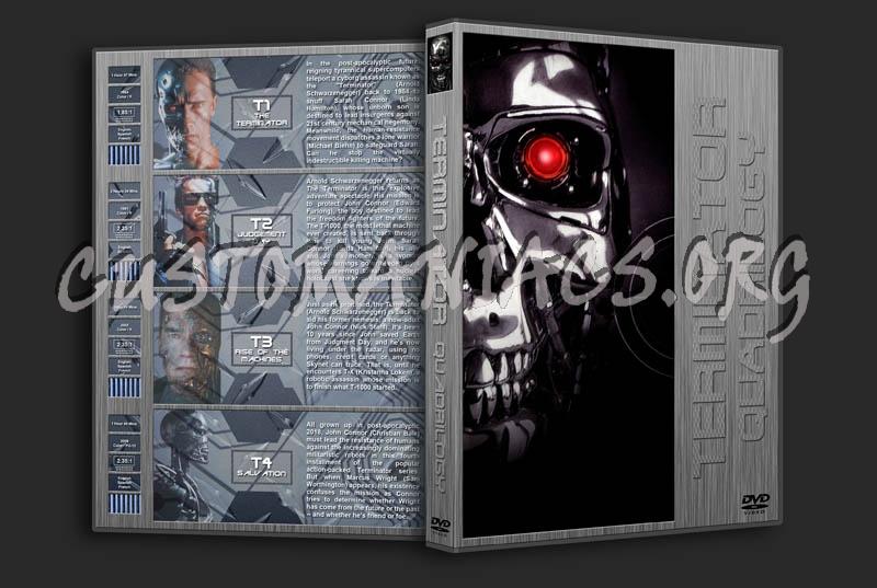 Terminator Quadrilogy dvd cover