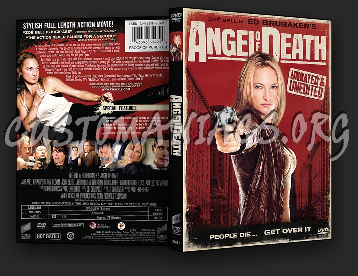 Angel of Death dvd cover